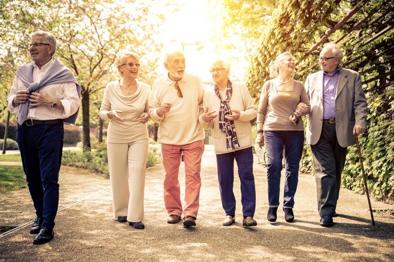 Camin de batrani Alzheimer